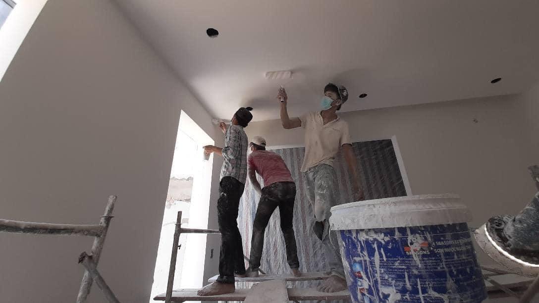 Thợ sơn nhà quận 2 - Xây dựng Thanh Tuyết
