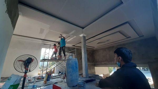 Thợ sơn nhà quận 4 của Xây dựng Thanh Tuyết