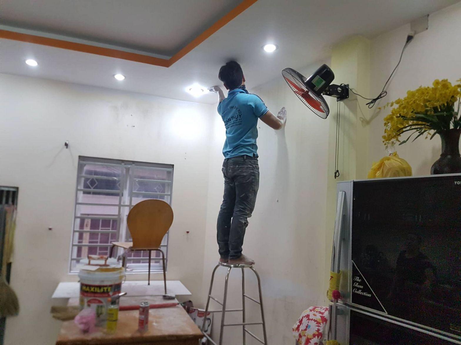 Thợ Sơn Nhà Thanh Tuyết Uy Tín